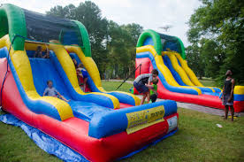 multi colored backyard water slide covington ga 770 787 1869
