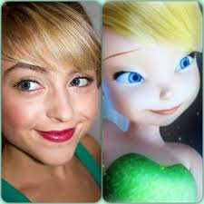 tinkerbell hairstyle tinker bell hair and makeup tutorial youtube