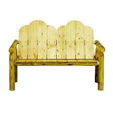 Yellow Outdoor Benches Patio Chairs The Home Depot - Yellow patio furniture