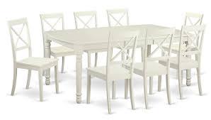 east west dover 9 piece dining set u0026 reviews wayfair