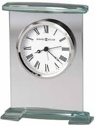 howard miller augustine 645 691 glass alarm clock the clock depot