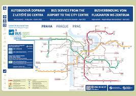 Prague Subway Map by Prague Metro Map