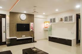 Flat Interior Design Beautiful 2 Bhk Flat Interior Design Ideas Contemporary