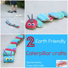2 earth friendly caterpillar crafts caterpillar craft earth and