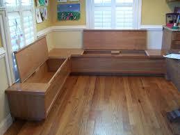 outdoor bench seat with storage plans wooden in kitchen corner