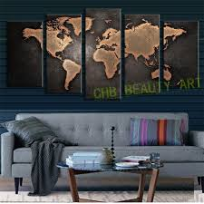 World Map Wood Wall Art by Popular Old World Map Canvas Buy Cheap Old World Map Canvas Lots