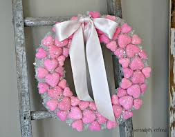 serendipity refined blog dollar tree valentines day heart wreath