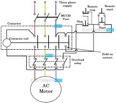 wiring diagram wiring diagram for motor starter 3 phase elec4 15