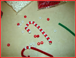 easy christmas craft glue guns candy canes and pipes