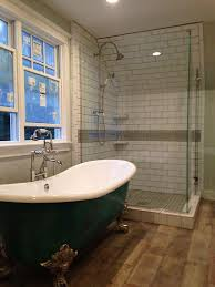 bathroom designs with clawfoot tubs denver bathroom remodel with claw foot tub and glass shower