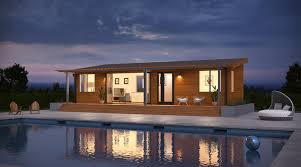 Pool House Cabana by Prefab Tiny Homes A Highlight Of New Blu Homes Product Launch Curbed