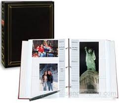 photo albums with memo area bi directional 3 ring black album with memo area picture frames
