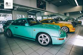 porsche ruf ctr3 for sale 1 of 1 mint green ruf ctr yellowbird porsche