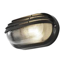 Bulkhead Outdoor Lights Anders Oval Outdoor Bulkhead Eyelid Wall Light Black From Litecraft