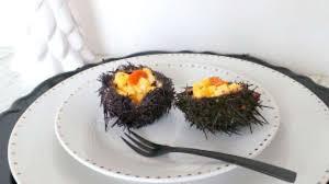 comment cuisiner des oursins oeufs brouillés aux oursins recette par my culinary curriculum