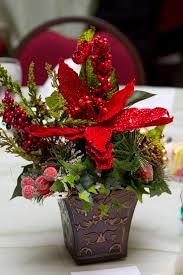 cool poinsettia centerpieces wedding flower arrangements with