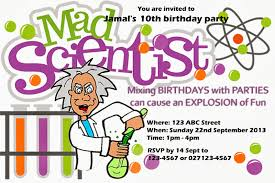 penny u0027s parties mad scientist party