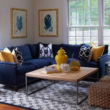 blue sofa living room living room with wainscoting framing natural linen slipcovered
