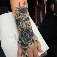 rose tattoo designs on hand danielhuscroft com