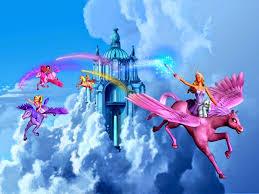 cartoons videos barbie magic pegasus hd video clips