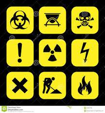 laboratory safety symbols stock vector image of biohazard 2904593