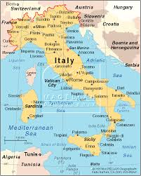 italy map map of italy