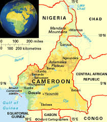 map of cameroon cameroon africa kingsley