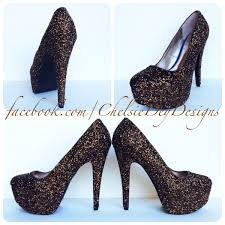 wedding shoes glitter brown glitter high heels brown pumps copper chocolate chesnut