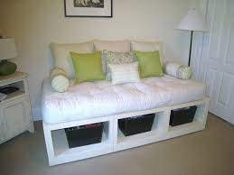 Daybeds With Trundles Bedroom Comfortable White Daybeds With Trundle With Colorful