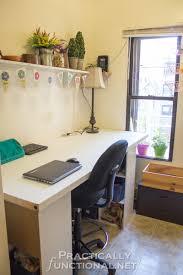 Craft Desk Diy Make Your Own Built In Craft Desk