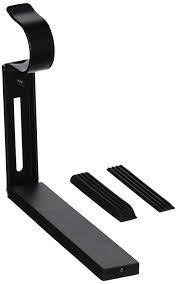 ikea black betydlig curtain rod wall or ceiling adjustable bracket