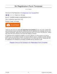 free registration form templates edit fill print u0026 download