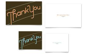 thank you card size thank you note card template word publisher
