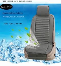cooling fan car seat covers breathable universal cools car with