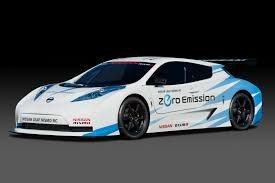 nissan leaf nismo rc purpose built track racer debuts at new york