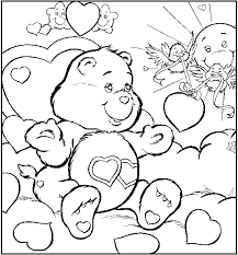 care bears coloring pages care bear coloring pages print
