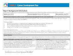 career plan template templates memberpro co