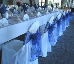 blue chair sashes hot sale royal blue organza chair sashes rhinestone sash belt