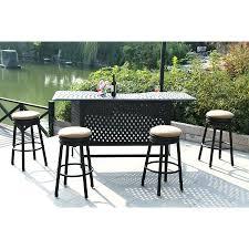 Patio Furniture Bar Height Patio Ideas Outdoor Patio Table Bar Height Outdoor Weather Patio