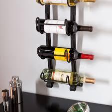 ideas wall mount wine rack wrought iron wall mounted wine rack