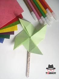 cara membuat origami kincir angin tutorial origami kincir angin tobikin com