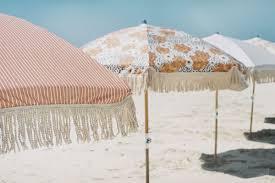 Beech Umbrella Sunday Supply Co Beach Umbrellas