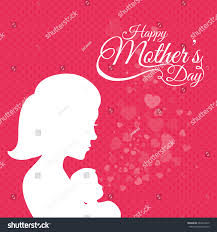 happy mothers day card design vector stock vector 267094415