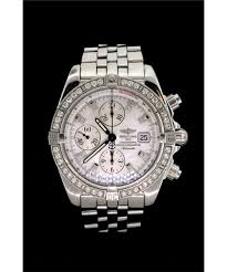 bentley breitling diamond watch 1 men u0027s st steel breitling chronomat evolution diamond