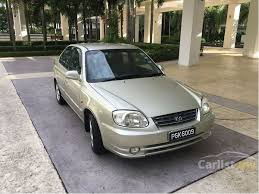 hyundai accent s hyundai accent 2005 rx s 1 5 in penang automatic sedan gold for rm