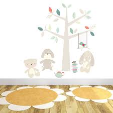 teddy bear s picnic wall stickers by littleprints teddy bear s picnic wall stickers