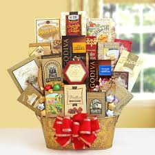 wishes for the entire family gift basket of treats by