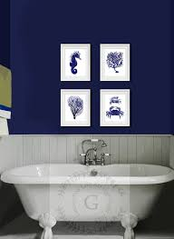 Navy And White Bath Rug Bathroom Navy Blue Bathroom Cabinets And White Sets Set Bath