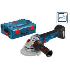 bosch gws 18v 125 sc 125mm brushless grinder in l boxx body only