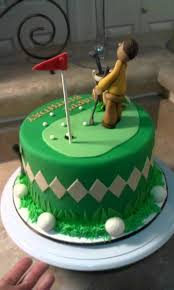 golf theme birthday cake man putting youtube